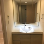 室内(2019年年8月)撮影 洗面台は大きめのシャンプードレッサーです。(洗面)